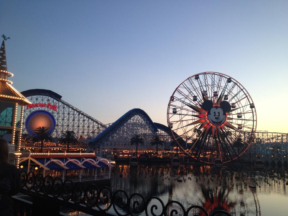 {Travel Throwback} Spring Break with My New York BFF- California Adventure