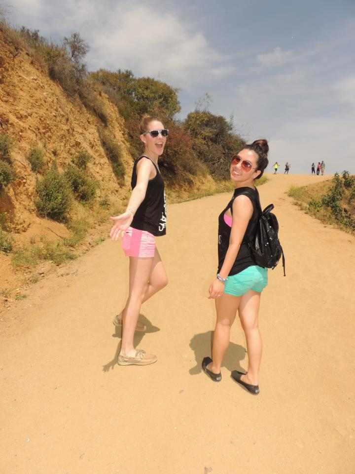 {Travel Throwback} Spring Break with My New York BFF- Hollywood Hike