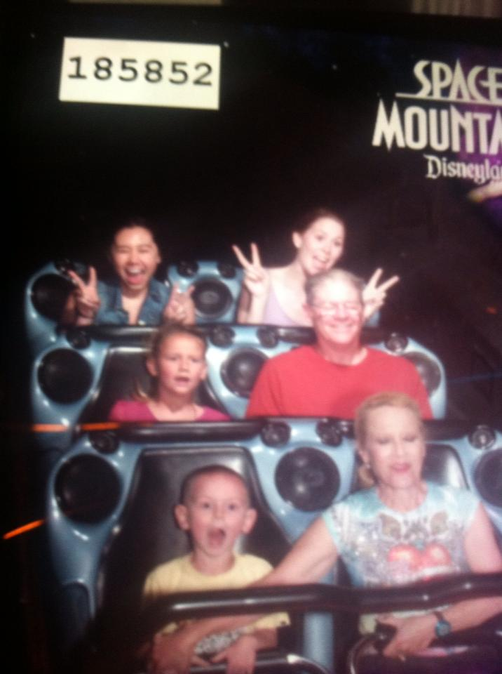 {Travel Throwback} Spring Break with My New York BFF- Space Mountain