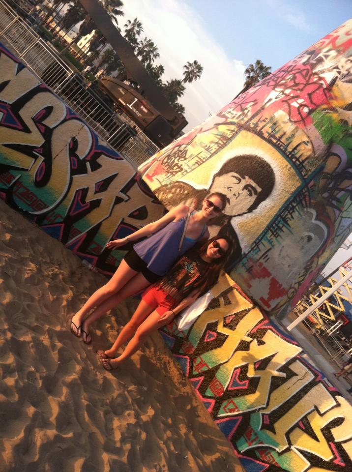 {Travel Throwback} Spring Break with My New York BFF- Venice Beach