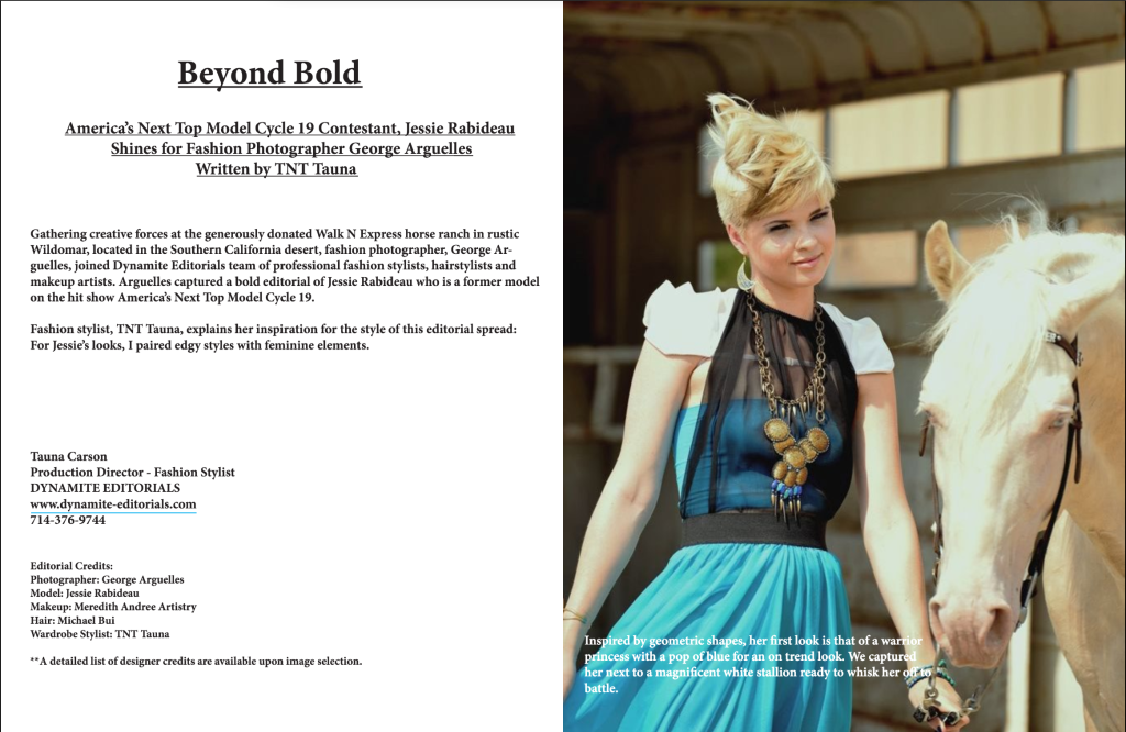 Blogging with TNT Tauna- Beyond Bold Avant Garde