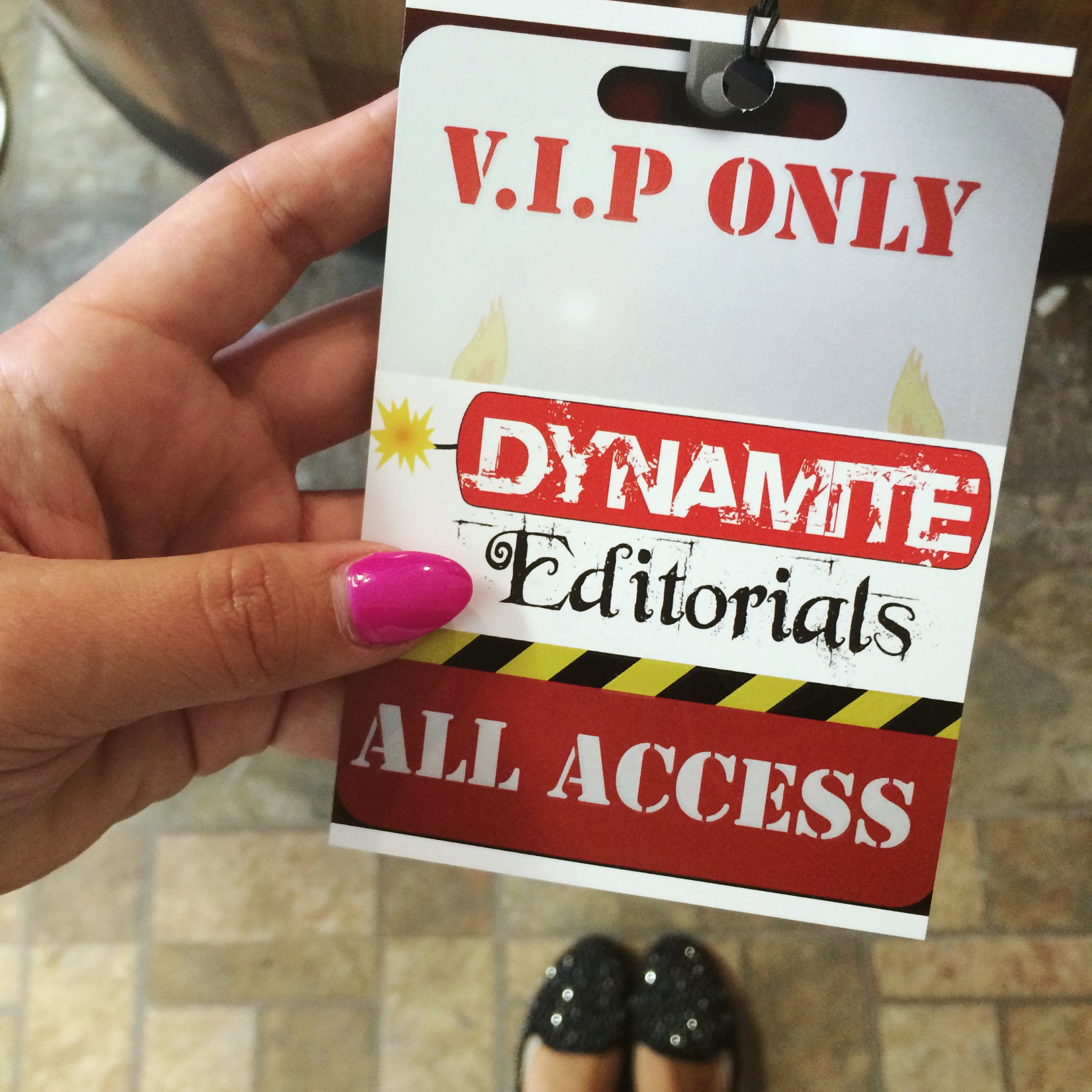 Behind the Scenes at Mint Salon Vintage Photo Shoot VIP Pass