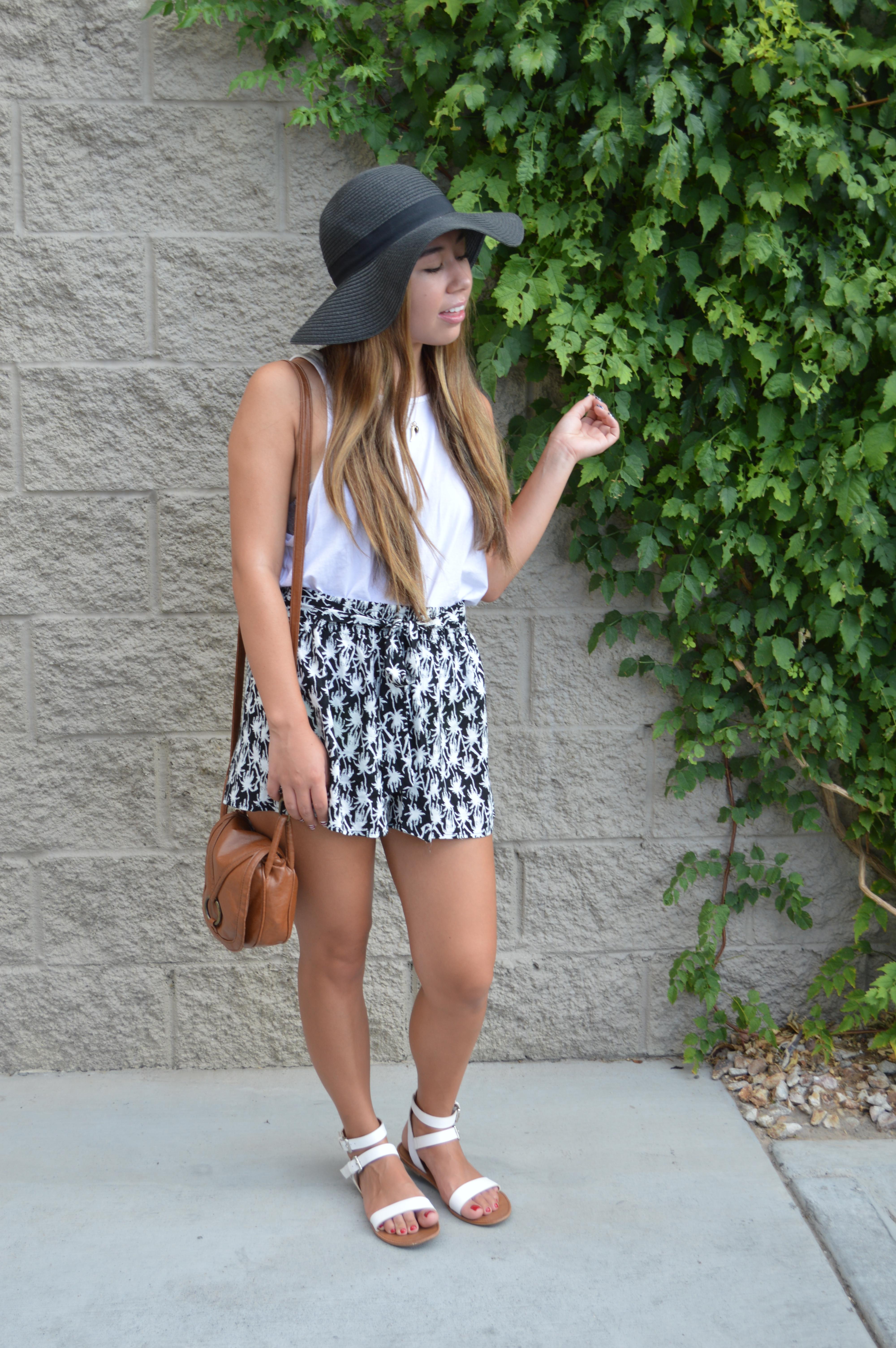 {Las Vegas Day 3} Black + White Summer by WorldWidStylista