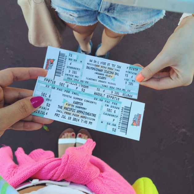 OC Fair 5th Harmony and Karmin Concert Tickets