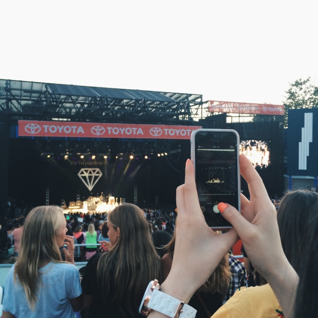 Instagramming from the OC Fair 5th Harmony and Karmin Concert