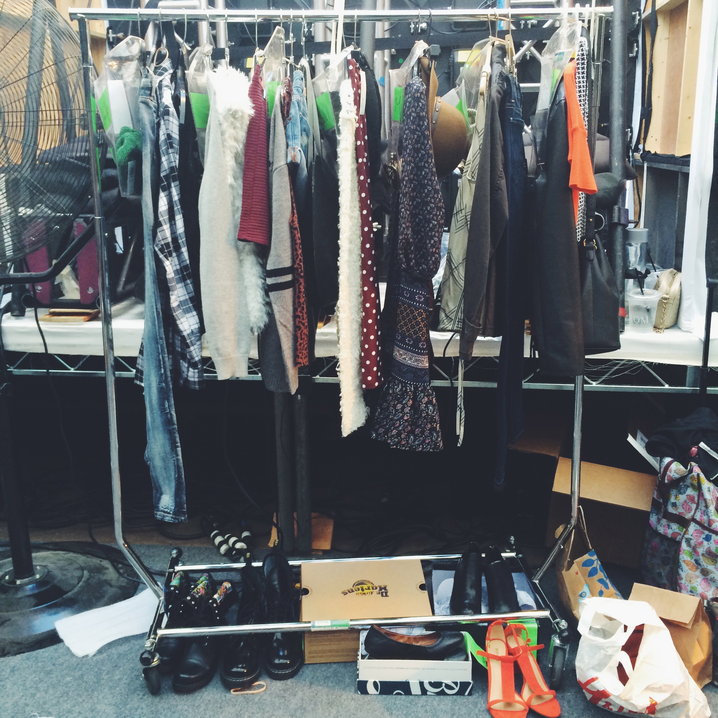 Fall Fashion Looks Backstage at Style Week OC 2014